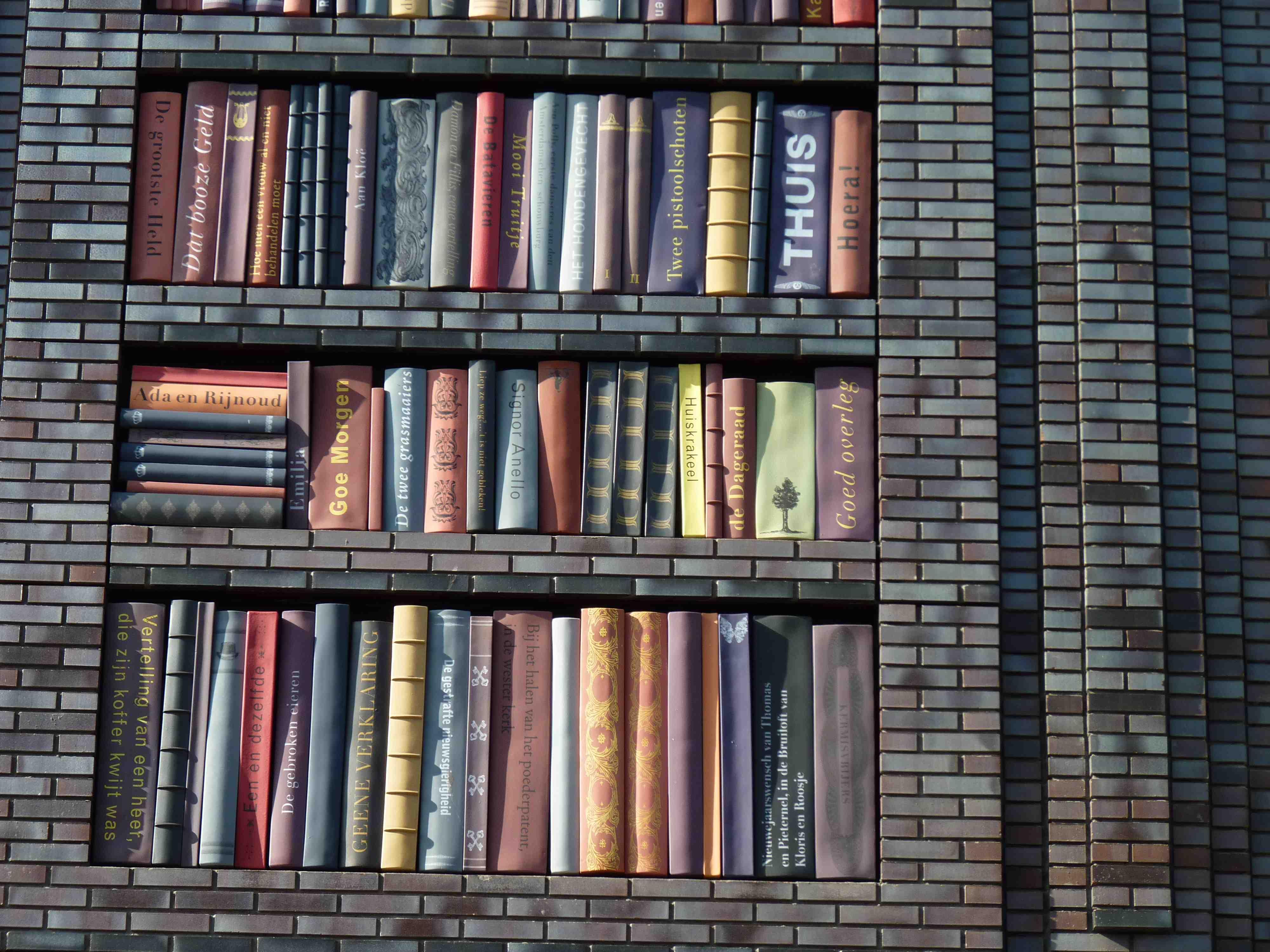 Carta da parati che sembra legno immagini for Carta da parati libreria